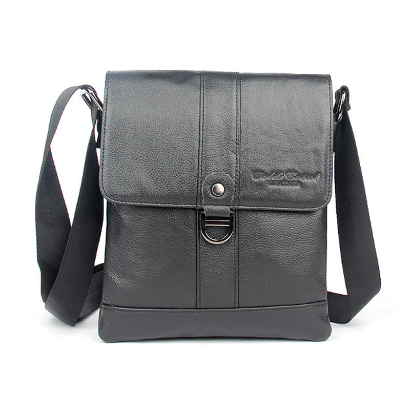 ФОТО 2016 HOT sell 100% guarantee genuine leather small messenger bags for men single shoulder bag male crossbody bags handbags