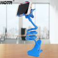 New Universal 360 Rotating Flexible Long Arm Lazy Phone Holder For iphone Samsung Bed Desk Table Clip Bracket For Cell Phone