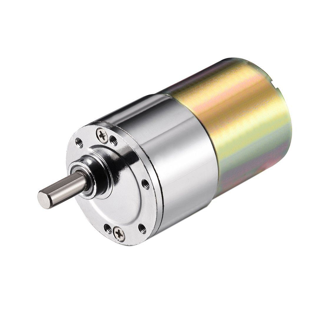 DC 24V 300RPM Mini Gear Box Motor Speed Reduction Electric Gearbox Eccentric Output Shaft цена