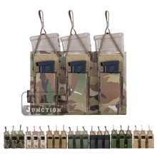 Emerson Tactical Triple Open Top 5.56 & Pistol Magazine  Pouch EmersonGear MOLLE/PALS Mag Pouch Holster Carrier Airsoft Military