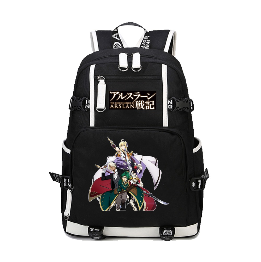 Anime Record of Grancrest War backpack Shoulder Bag Unisex Laptop Bag Printing canvas backpack teenagers Student Book BagAnime Record of Grancrest War backpack Shoulder Bag Unisex Laptop Bag Printing canvas backpack teenagers Student Book Bag