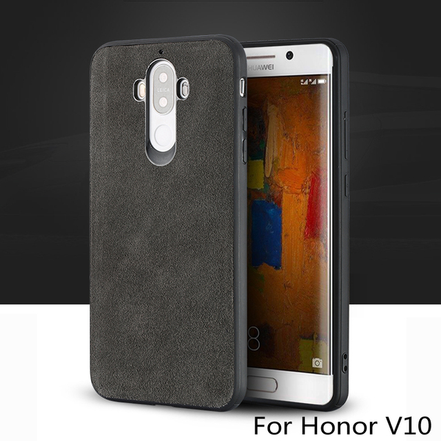 Wangcangli marka wszystkie ręcznie robione oryginalne futro telefon etui na Huawei Honor V10 wygodny w dotyku All inclusive etui na telefon