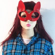 Wanita Kulit Kucing Masker Baru Joker Halloween Carnival Party 4 Warna Kacamata Masquerade Berlian Catwoman Cosplay Perhiasan(China)