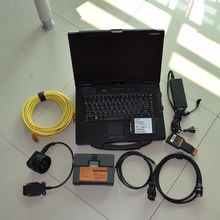 FOR bmw icom 2 With laptop cf52 ram 4g car diagnostic computer with software ista expert mode 500gb hdd windows 7 ready to use