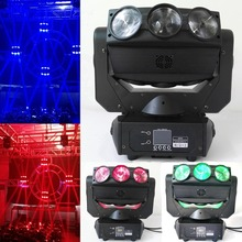 New Stage Lights 9X12W RGBW 4IN1 Led Beam Moving Head Spider Light Endless Rotation DJ Lighting Disco