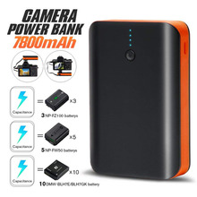 Portable Power Bank For Phone Camera USB Hot Shoe Charger 7800mAh Real Capacity Rechargeable Lithium Battery