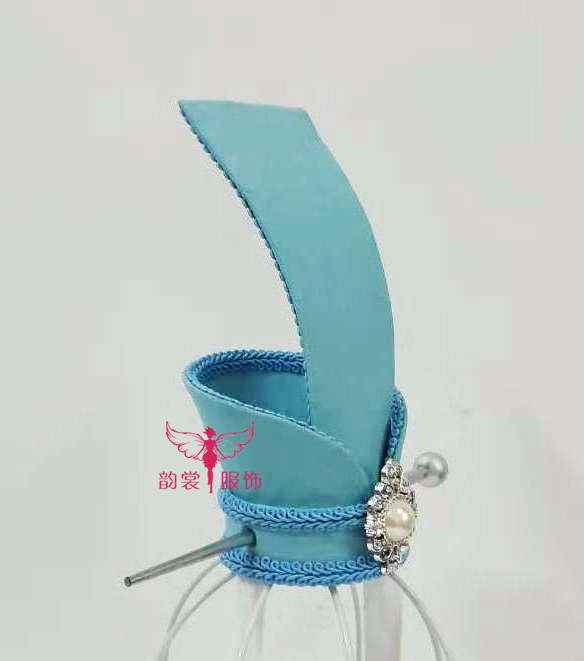 5 Designs Silver Blue Handmade Male Hair Tiara for Chinese Anime The Founder of Diabolism Ancient Chinese Lan Wangji Cos Hat