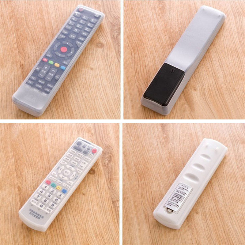 1 Pcs Tv Remote Control Dust Jacket Bag Waterproof Silicone Protective Cover Home For Air Conditioning To Be Highly Praised And Appreciated By The Consuming Public