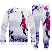 (sweater+pants) male and female casual suit tide fashion men's hip hop costumes clothing sweatshirt pants casual two pieces sets