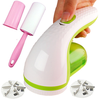 Charge Type Electric Fluff Lint Remover Green icobbler with Clothes 6W High Power Shaver Electric Fabric Sweater