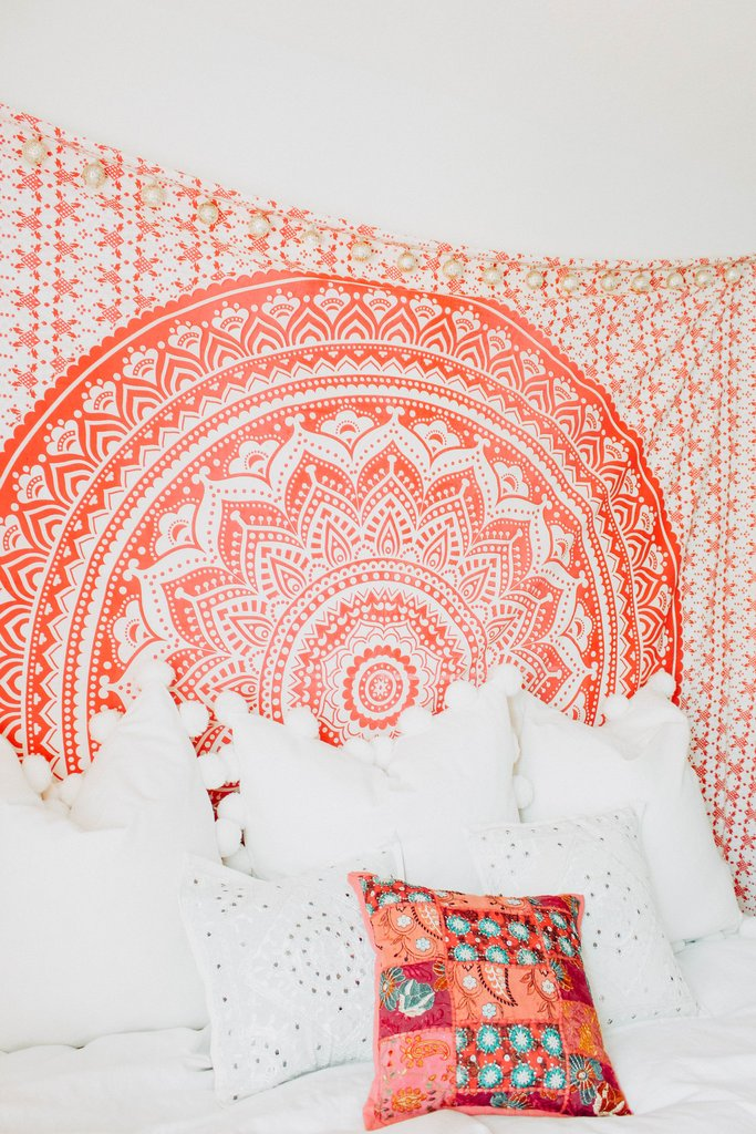 Cilected New Mandala Tapestry Wall Hanging For Bedroom Dorm Living ...