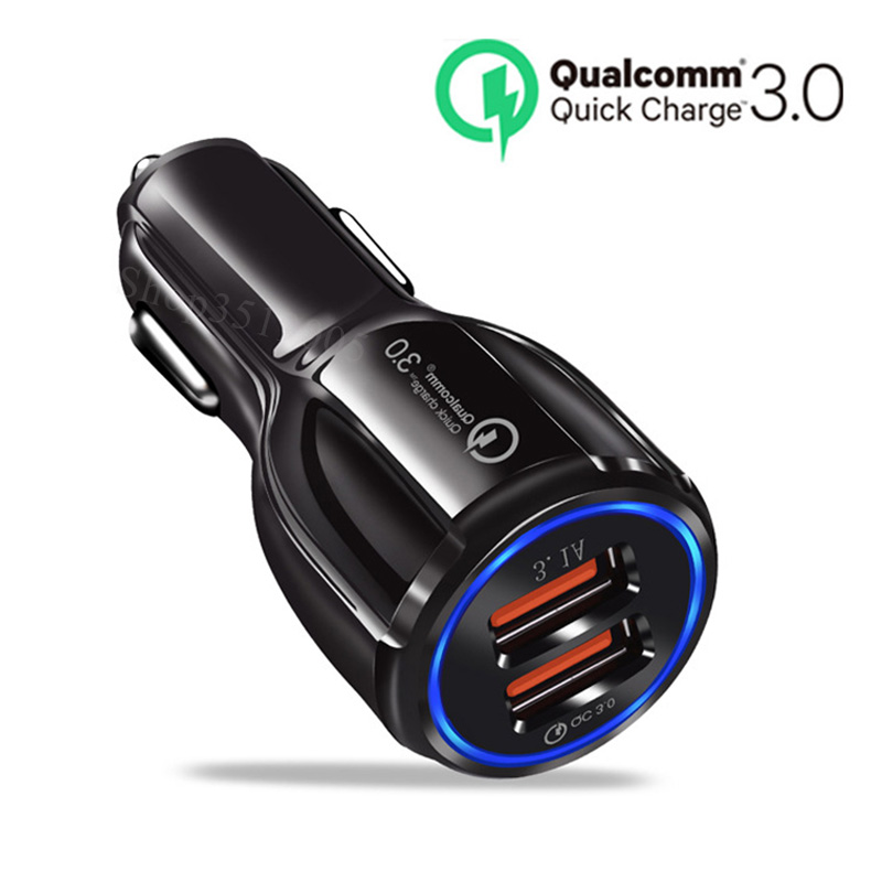 Car Quick 3.0 USB Car Phone Charger Accessories Stickers For Chrysler PROWLER 200 Sebring