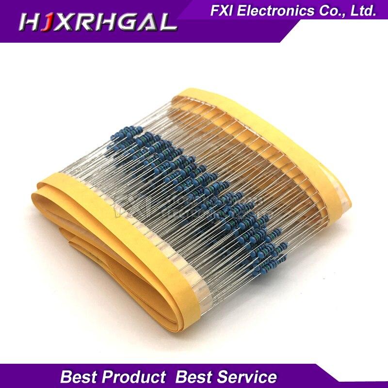 100PCS 2 Ohm 1/4W 1% Metal Film Resistor 0.25W 1/4w Resistance