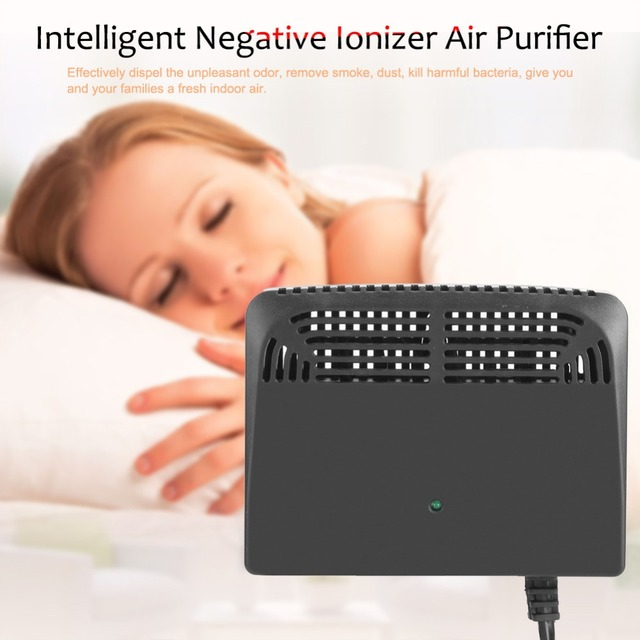 Air Purifiers Negative Ionizer Generator Ionizer Air Cleaner Remove Smoke Dust Air Fresh US purificador de aire