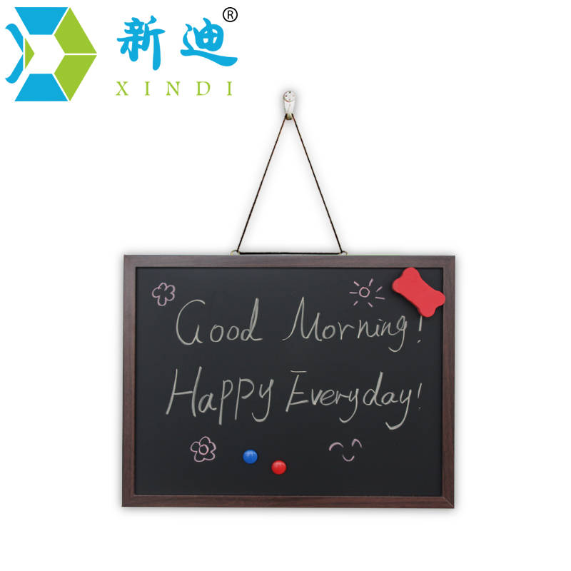 xindi new 3545cm mdf wooden frame blackboard magnetic chalkboard 5 colors home decorative