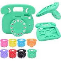 For Ipad Mini 1 2 3 4 Silicone Thick Foam Shock Proof Soft Stand Telephone Case