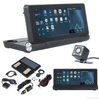 Vehemo 3g 7 дюймов Автомобильный видеорегистратор Android gps навигации WI FI Bluetooth WI FI глобальной карте грузовик регистраторы gps двойной камера