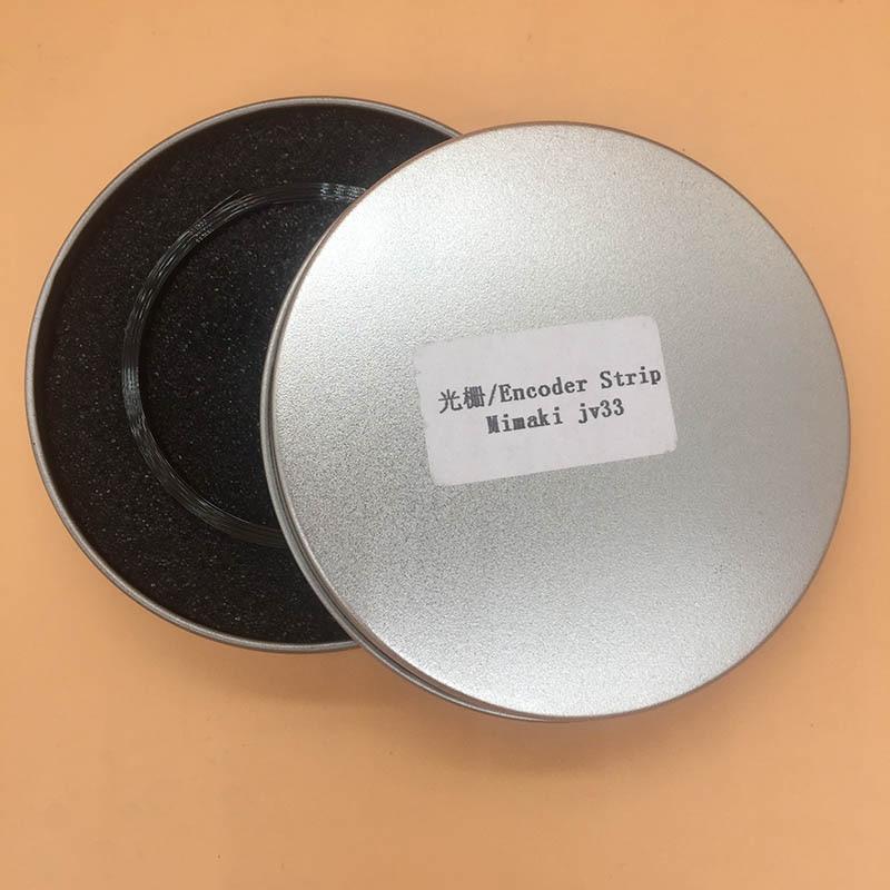 Stampante di grande formato DX5 testa striscia encoder per Mimaki JV33 JV5 JV3 CJV30 JV5 TS34 striscia raster encoder stampante film con foro