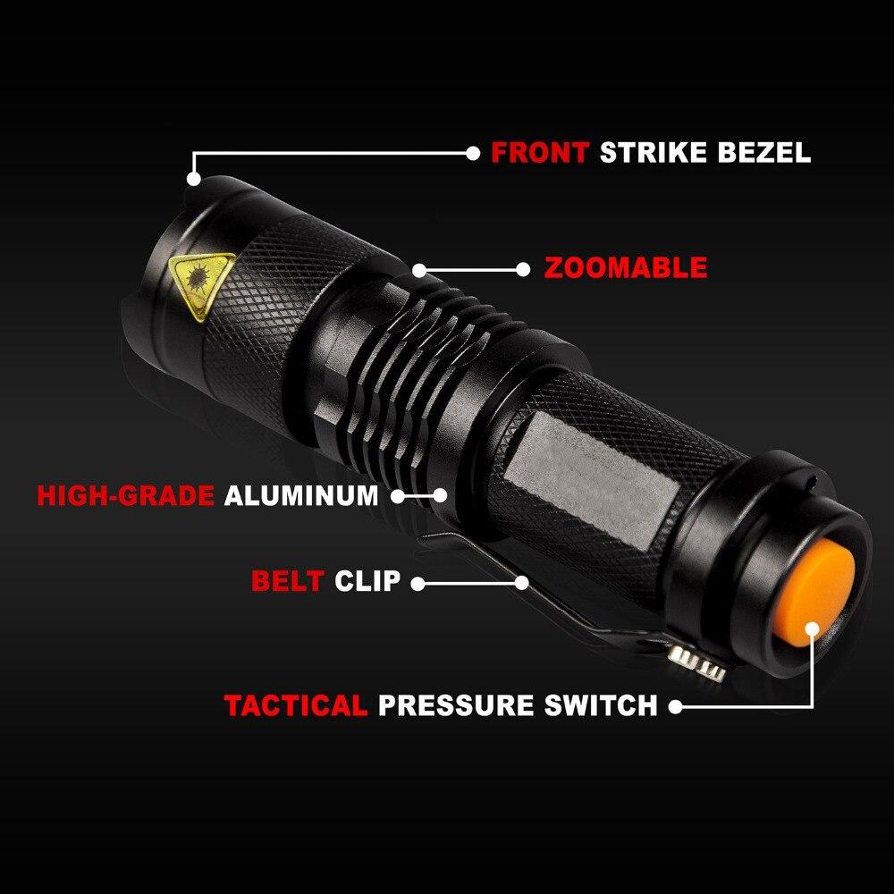 Lanternas e Lanternas modo de bateria à prova Distância Focal : Ajustável