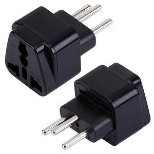 Image 3 - Universele 3pin Zwitserland Conversie Plug Adapter Uk/Us/Eu/Au 3 Pin Zwitserland Travel Plug Type J zwitserse Plug Converter Plug