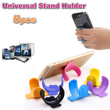 Hot 5PCS Touch U Accessories Mobile Phone Gift Stand Holder Rubber Sucker Stand Support For iPhone 5 5S 6 Plus For Samsung HTC