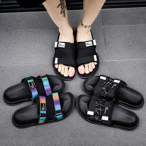 Shoes Slipper Sleepers House Men Slides Outside Big-Size Indoor Summer Home Beach Soft
