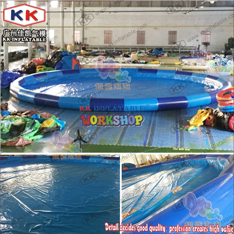 Inflatable Round Large Pool For Sale, Large Adult Outdoor Family Ultralarge Thickening Circle