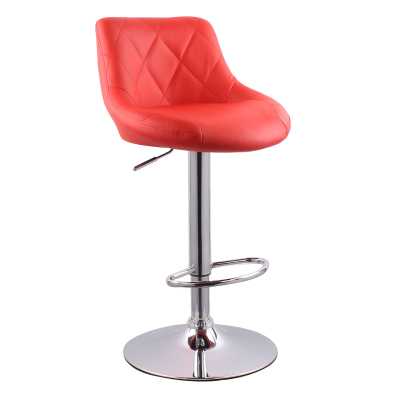 Learned High Quality Ergonomic Short Lifting Swivel Chair Rotating Adjustable Height Pub Bar Stool Chair High Density Sponge Cadeira Furniture