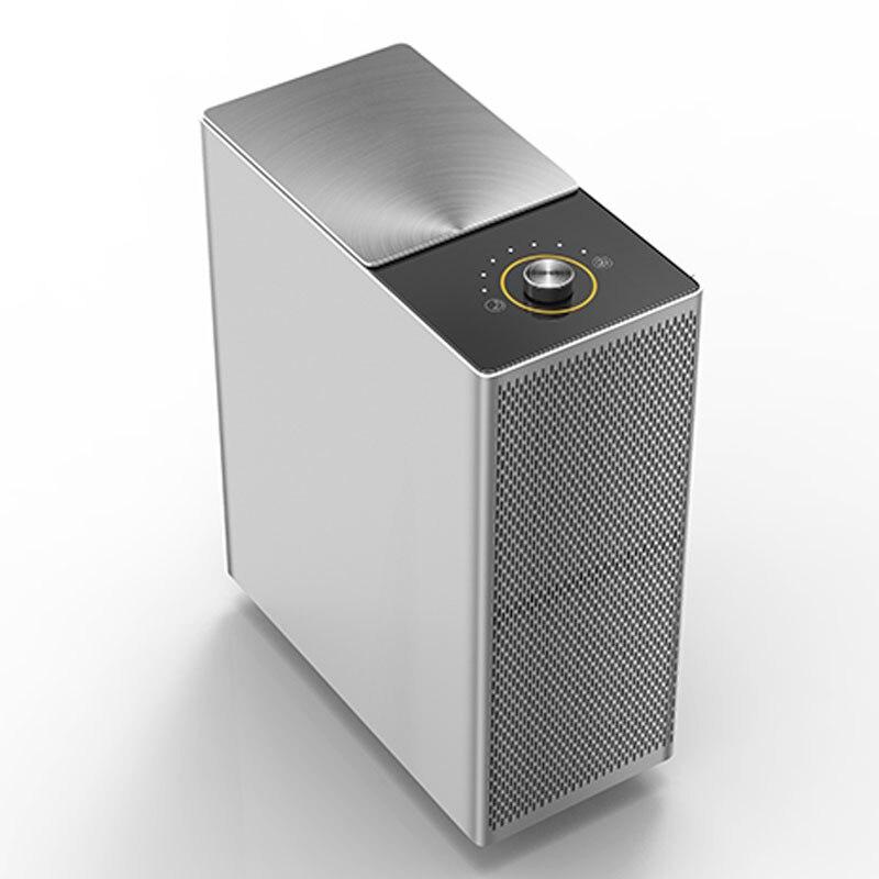 Офис Использовать Очиститель воздуха esp способ не потребляют фильтр на весь срок службы низкий голос воздушный cleanner металлическая крышка VS