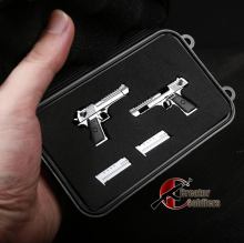 1/6 Scale Desert Eagle gun model Box Multi-functional weapon Storage Display box Accessories
