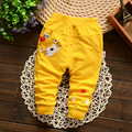 New 2016 Spring Autumn Baby Pants 4 Colors Cotton Star Pattern Kids Pants Baby Boy Girls Pants