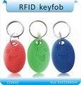 Envío gratis 100 unids/lote 5 #125 Khz EM4100 RFID de Proximidad ID Card Mandos clave, Tarjeta de Control de Acceso Rfid Tag