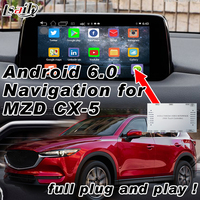 Plug&Play Android 6.0 Navigation Interface GPS System for Mazda CX 5 with Mirrorlink WIFI USB Bluetooth 3D Live Map Applications