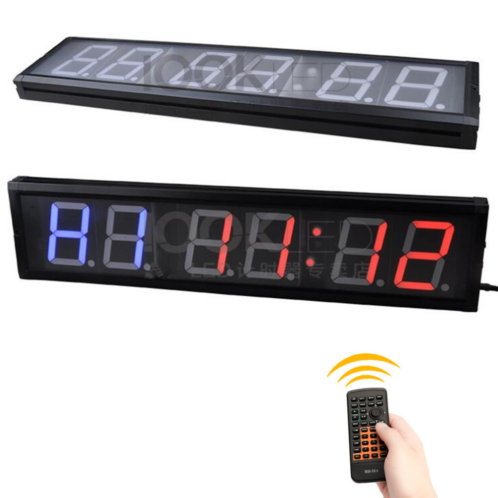 4 inch Remote LED display countdown clock Gym boxingTraining Time And Rest Time Alternate CountdownCount up As A Stopwatch4 inch Remote LED display countdown clock Gym boxingTraining Time And Rest Time Alternate CountdownCount up As A Stopwatch