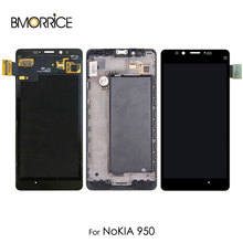 Original LCD Display For Nokia Lumia 950 RM-1104  Touch Screen Digitizer Assembly Replacement With Frame 5.2