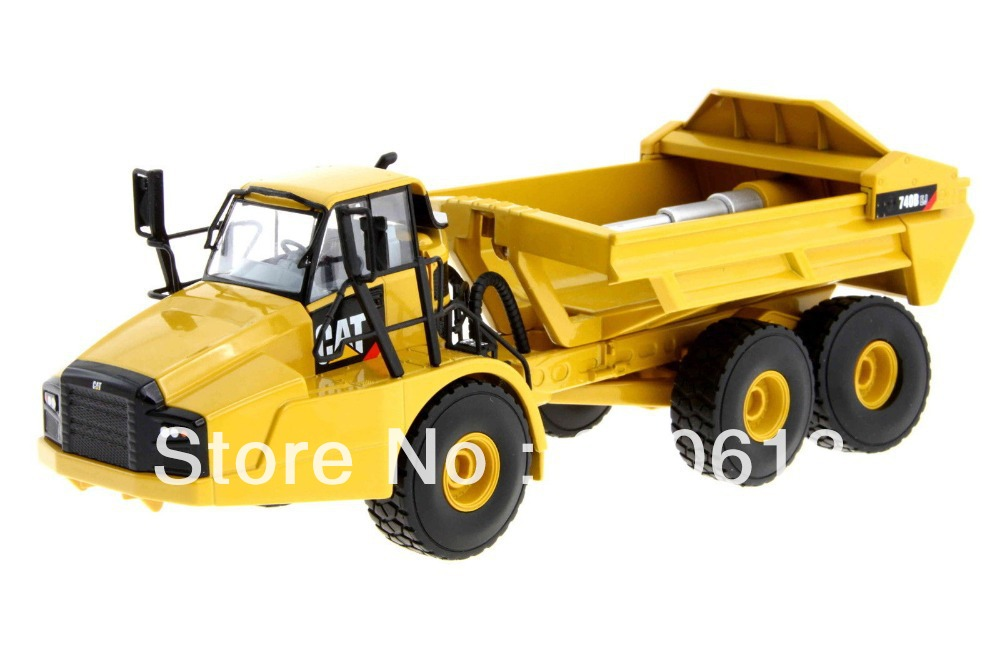 Norscot Caterpillar 740B EJ Articulated <font><b>Hauler</b></font> with Ejector Body 55500 Cat NIB toy image