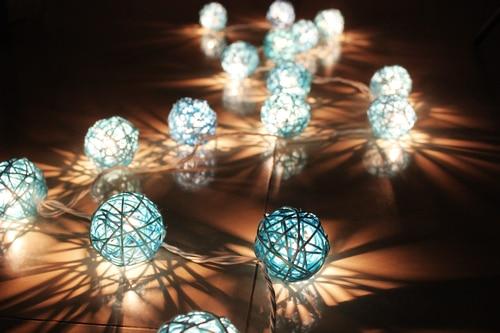 Sepak Takraw Thailand Lantern Festival Lights String Garden Wedding Two Bedroom Decor Free S In Holiday Lighting From