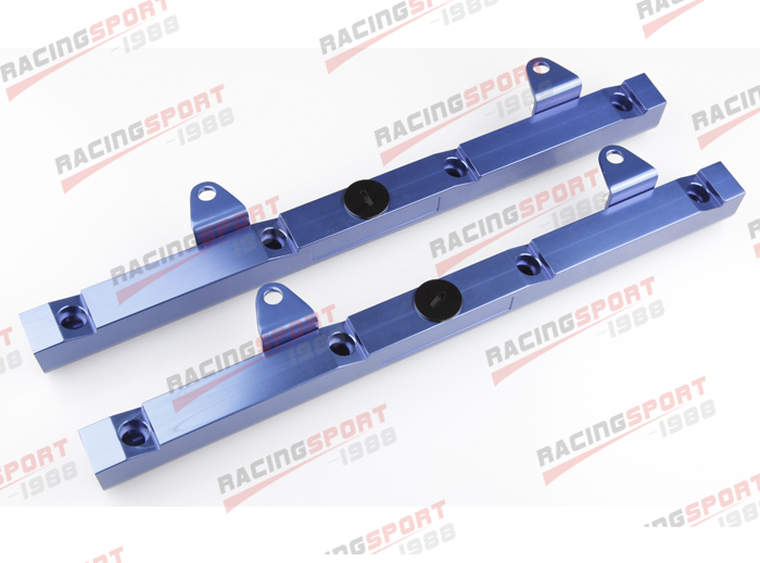 High Flow for HOLDEN LS1 BILLET aluminum FUEL RAIL kits blue FRK-HOL-01