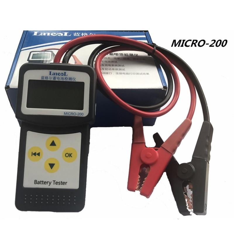 LANCOL MICRO-200 Diagnostic tool 12V CCA Digital Automotive /Car Battery Tester