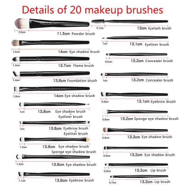 Brochas de Maquillajede Cara