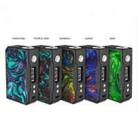 Original VOOPOO DRAG 157W TC Box Mod Resin Version Temperature Control e cigarette 18650 Vape Mod VS predatore 228w MOD drag 2