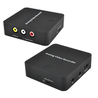 AV converter, Analog video recorder, record VHS, Camcorder, DVR to TF Card directly no pc need,and show HDMI AC out same time