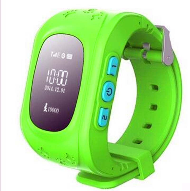 Newest Kids GPS Watch Q50 Smart Watch With SOS Key Anti-Lost for iphone Apple Android Phone Smartwatch Reloj Inteligente