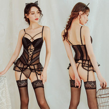 Women Sexy Lingerie Lace Babydoll Erotic Costume Porno Underwear Sleepwear Corset