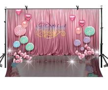 150x220cm Wedding Theme Backdrop Romantic Pink Photography Background for Camera Photo Props