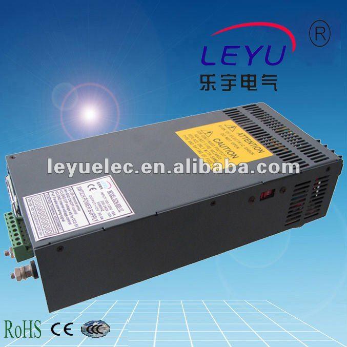 PFC function parallel function power LEYU SCN-600 series single output 12V 15V 24V 48V 600W  switching power supply PFC function parallel function power LEYU SCN-600 series single output 12V 15V 24V 48V 600W  switching power supply