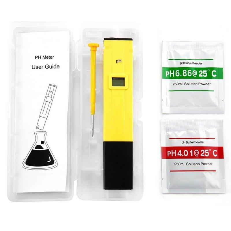 Neue Protable LCD Digital PH Meter Stift von Tester genauigkeit 0,01 Aquarium Pool Wasser Wein Urin automatische kalibrierung