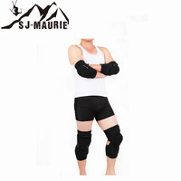 4pcs Elbow Knee Protector Ski Support Knee Pads Breathable Bicycle Cycling Climbing Knee Pads Skiing Sport Knee Leg Protector