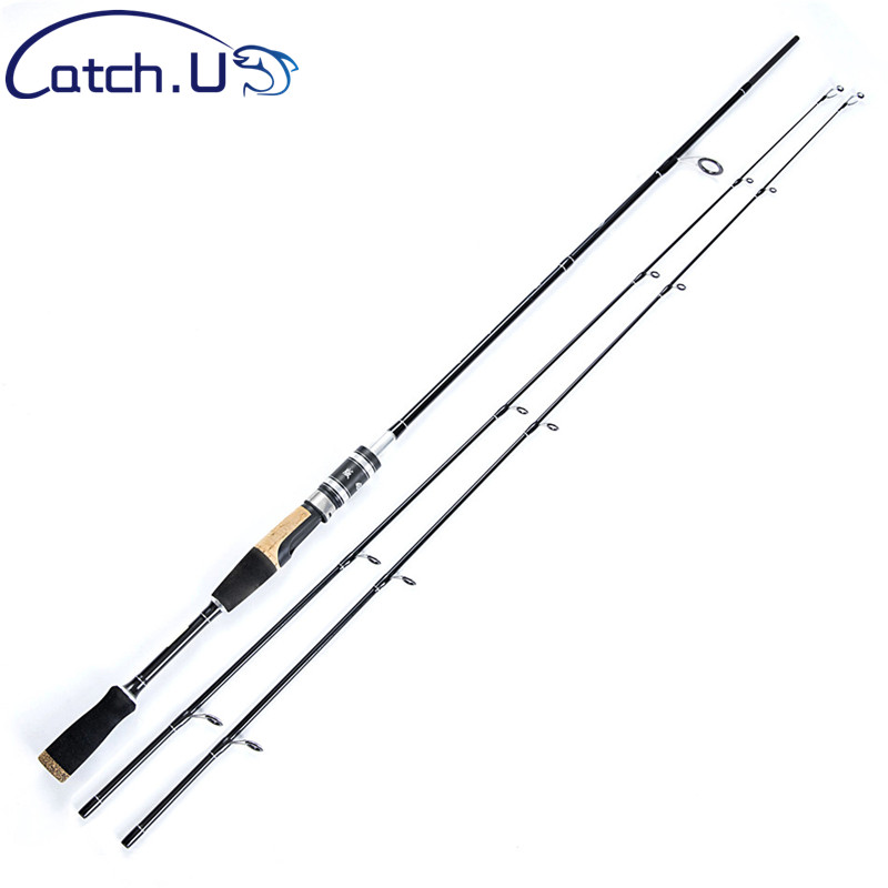 Just Catch.u 1.8m M/mh 4-25g/18-45g 2 Tips Fishing Rod Carbon Fiber Casting Rods Fishing Rod Spinning
