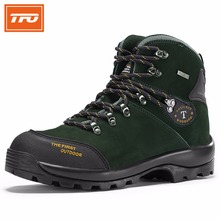 TFO Hommes Randonnée Chaussures Bottes Camping Escalade Chaussures Homme Sneakers Respirant Marche en Montagne Bottes Chaussures Imperméables 8221316